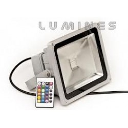 LAMPA LED COB RGB 30W 3150LM COB BIAŁY ZIMNY IP67