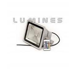 LAMPA LED COB RGB 50W 3150LM COB BIAŁY ZIMNY IP67