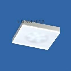 MEBLOWA OPRAWA 12 LED STIK50/2, MLECZNA 2,4W 12V Z 1m KABEL NS25