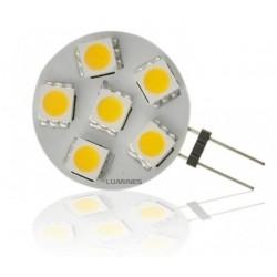 LED HALOGEN 12V 1,5W 6LED SMD 5050 B. CIEPŁY IP20