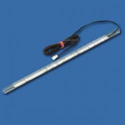 NSP TRANSPARENTNA NAKŁADKA LED DO PÓŁEK SZKLANYCH 360mm 9LED 12V DC 0,90W