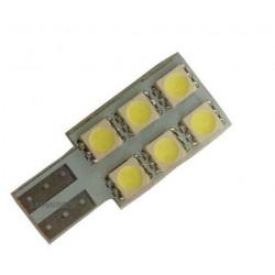 ŻARÓWKA SAMOCHODOWA LED T10 6LED SMD 5050 B.ZIMNY CANBUS
