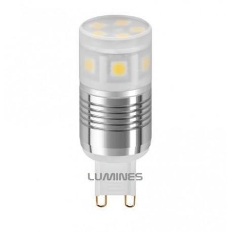 G9 LED(LIN) 2,2W 160LM 11LED SMD 5050 B.CIEPŁY 3000K 240° IP20