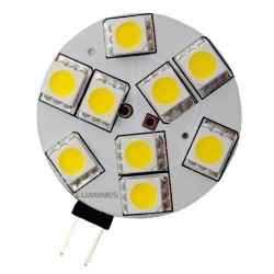 LED HALOGEN 12V 2W 9LED SMD 5050 B.CIEPŁY IP20