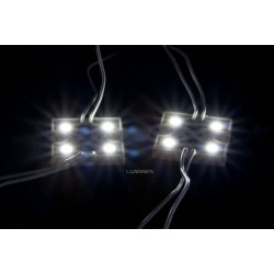 MODUŁ LED(MPL) 5050 0,96W 12V 4 DIODY IP65