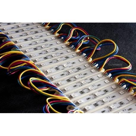 MODUŁ LED(MPL) RGB 5050 0,72W 12V  3 DIODY  IP65
