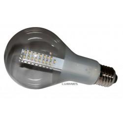 E27 LED(LC) BULB 7W 76x5630 TRANSPARENTNA 645LM B.CIEPŁY 3000K 270° IP40