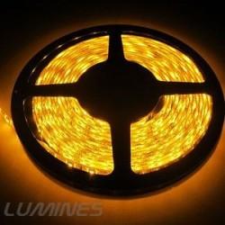 TAŚMA LED(MAX) 6lm 12V 24W 300LED/5M 3528 ŻÓŁTA 120° IP20 1m P.BIAŁY