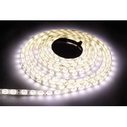 TAŚMA LED(MAX) 14lm 12V 36W 150LED/5M 5050 B.CIEPŁY 3000K 120° IP20 1m P.BIAŁY
