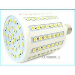 E27 LED(LL) CORN 13W 108LED SMD 5050 B.CIEPŁY 3300K 240° IP20