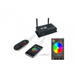 NONTROLER LED WiFi - PILOT/TELEFON (ANDROID, OIS) 5V ~ 24V DC 4A