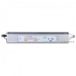 ZASILACZ(LIN) 15W WODOODPORNY LED 12V DC 1,3A IP67