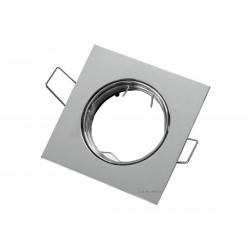 OPRAWA HALOGENOWA/LED(LIN) KWADRAT RUCHOMA CHROM GU10/MR16