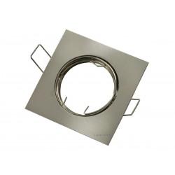 OPRAWA HALOGENOWA/LED(LIN) KWADRAT RUCHOMA SATYNA GU10/MR16
