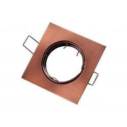 OPRAWA HALOGENOWA/LED(LIN) KWADRAT USTAWNA ANTYK GU10/MR16