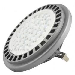 AR111/G53(LL) LED HALOGEN 12V 15W 1200LM 32 LED 3020 BIAŁY CIEPŁY 3000K IP40