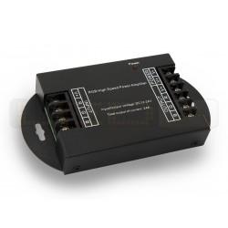 WZMACNIACZ(LIN) LED RGB 3x8A 288W 12V/24V DC