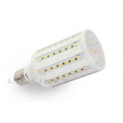 E27 LED(LIN) CORN 15W 86LED SMD 5630 B.CIEPŁY 2700-3000K 240° IP20