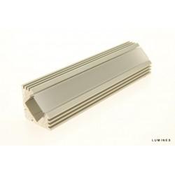 Profil Flow 1m anodowany 19mm x 19mm