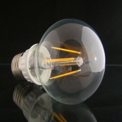 E27 LED(LIN) BULB 4xFILNAMENT 230V 3,6W 450LM B.CIEPŁY 3000K 270° IP40