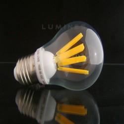 E27 LED(LIN) BULB 4x BIG FILAMENT 230V 4W 480LM B.CIEPŁY 3000K 270° IP40
