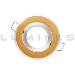 OPRAWA HALOGENOWA/LED(LIN) NEW RUCHOMA OKRĄGŁA ZŁOTY SZCZOTKOWANY GU10/MR16