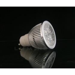 GU10 LED(LAB) HALOGEN 4W 400LM 4x1W HP LED BIAŁY CIEPŁY 3000K IP40
