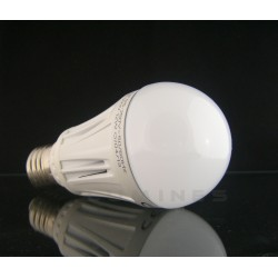 E27 LED(CAN) A60 BULB 10W 820lm 24x2835 SMD 160° B.CIEPŁY 3000K IP40