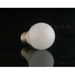 E27 LED (LL) BULB 5,5W 15 LED 2835 EPISTAR SMD 550LM B.CIEPŁY 3000K 120° IP40