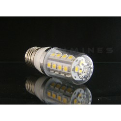 E27 LED(LIN) CORN-KLOSZ 5W 450LM 27LED SMD 5050 B.ZIMNY 6000K 270° IP40