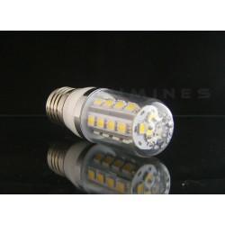E27 LED(LIN) CORN-KLOSZ 5W 450LM 27LED SMD 5050 B.ZIMNY 6000K 270° IP40
