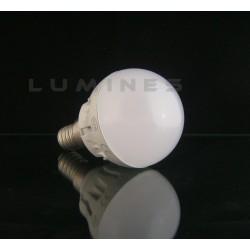 E14 LED(LL) BULB 6W 640LM 16LED EPISTAR SMD 2835 B.CIEPŁY 3000K 130° IP40
