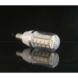 E14 LED(LIN) CORN-KLOSZ 5W 380LM 27LED SMD 5050 B.CIEPŁY 3000K 240° IP40