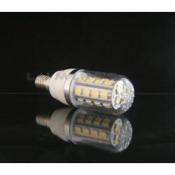 E14 LED(LIN) CORN-KLOSZ 5W 380LM 27LED SMD 5050 B.ZIMNY 6000K 240° IP40