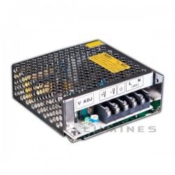 ZASILACZ POS LED(MP-LAB) 25W MODUŁOWY, IMPULSOWY, USTABILIZOWANY, RS-25 IP20