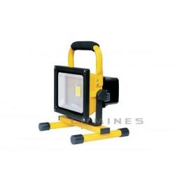 LAMPA LED(CAN) 12V/230V AKUMULATOR COB 20W 1600LM BIAŁY ZIMNY 6000K 120° IP67