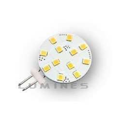 G4 LED(LIN) HALOGEN 12V 2,2W 12LED SMD 2835 CCD B.CIEPŁY 2700-3000K 120° IP20