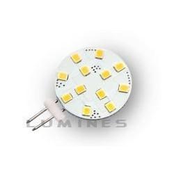 G4 LED(LIN) HALOGEN 12V 2,2W 12LED SMD 2835 CCD B.CIEPŁY 2700-3000K 120° IP20