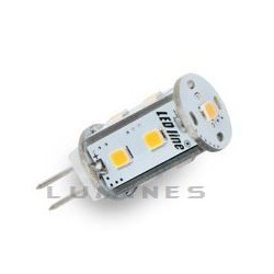 G4 LED(LIN) HALOGEN 12V 1,8W 150LM 9LED SMD 2835 B.ZIMNY 5700-6300K 120° IP20 OWAL