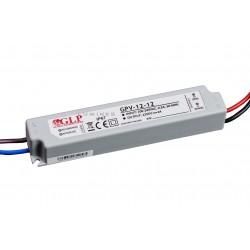 ZASILACZ LED(LAB-LIN-MP) GLP 12W WODOODPORNY 12V DC 1,5A IP67