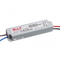 ZASILACZ LED(LAB-LIN-MP) GLP 24W WODOODPORNY 12V DC 2A IP67