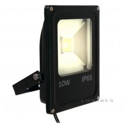 LAMPA LED(CAN) COB PŁASKA 10W 800LM B.CIEPŁY 2500-3000K 120° IP65 CZARNY