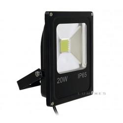 LAMPA LED(CAN) COB SLIM 20W 1600LM BIAŁY CIEPŁY 2700-3500K 120° IP67