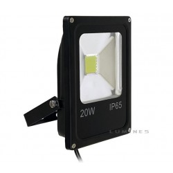 LAMPA LED(CAN) COB SLIM 20W 1600LM B.ZIMNY 6000-7000K 120° IP67
