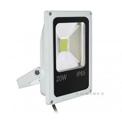 LAMPA LED(CAN) COB SANAN SLIM 20W 1600LM B. CIEPŁY 2700-3500K 120° IP67(BIAŁY)