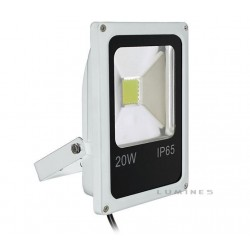 LAMPA LED(CAN) COB SANAN SLIM 20W 1600LM B.NEUTRALNY 4000-4500K 120° IP67(BIAŁY)