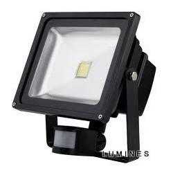 LAMPA LED COB 50W 5250LM COB BIAŁY ZIMNY IP67 Z CZUJNIKIEM RUCHU I ZMIERZCHU