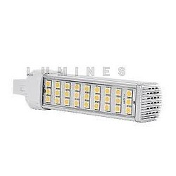 LED G24 7W 450lm 32LED SMD 5050 BIAŁY ZIMNY IP20