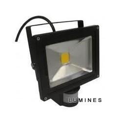 LAMPA LED COB 50W 5250LM COB B.CIEPŁY 3000K IP67 Z CZUJNIKIEM RUCHU I ZMIERZCHU